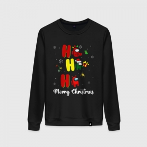 - People 8 Woman Sweatshirt Front Black 500 35