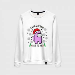 - People 8 Woman Sweatshirt Front White 500 84